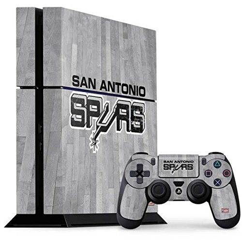 San Antonio Spurs PS4 Console and Controller Bundle Skin - San Antonio Spurs Hardwood Classics | NBA X Skinit Skin by Skinit