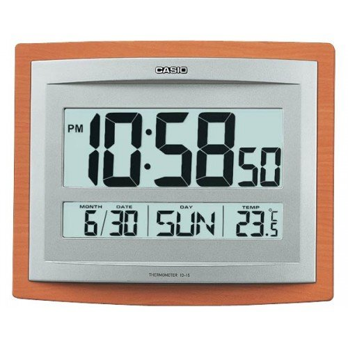 Casio Id 15s 5 Temperature Calendar Included