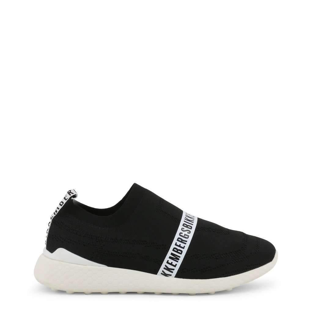 Black Bikkembergs shoes Basse Sneakers men black (STRIK-ER_2106)