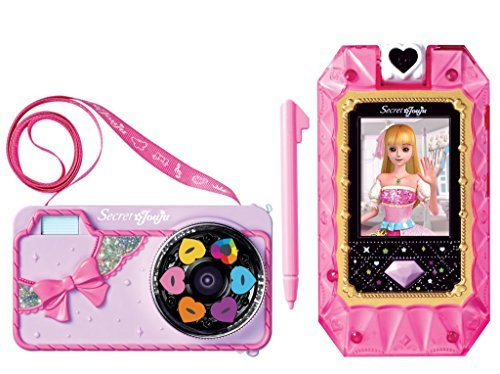 Secret Jouju Selfie Cam Camera for Kids Toy Cellphone for Children. Item and Manuel all in Korean.