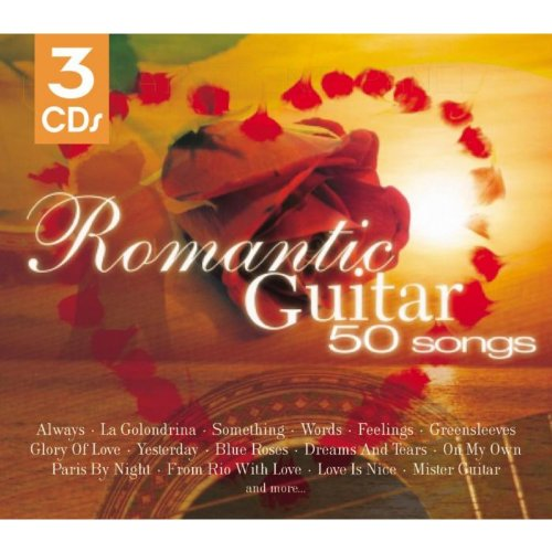 50 Romantic Guitar Classics By Various Artists On Amazon