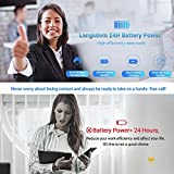 [Upgraded] Langsdom Bluetooth Headset for Cell