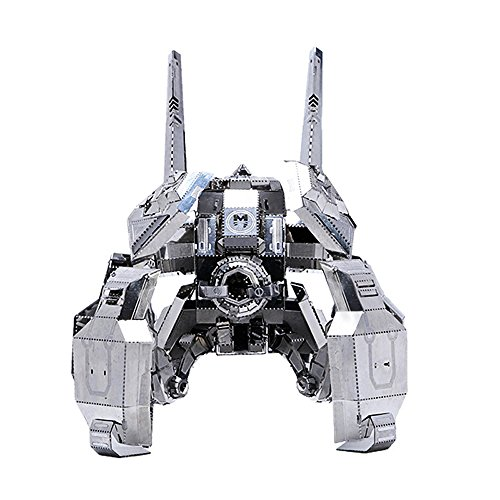 (MU 3D Metal Puzzle Terran Spider Ghost Mines Building Model Kit SGM-N01 DIY 3D Laser Cut Assemble Jigsaw Toys For Audit)