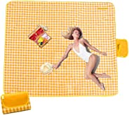 PunkDunk Picnic Blanket Extra Large - 80''× 80'' Picnic Mat for Outdoor, Camping Blankets Wate