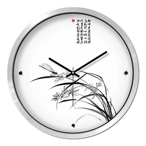 Amazon.com: FortuneVin Wall Clock Non-ticking Number