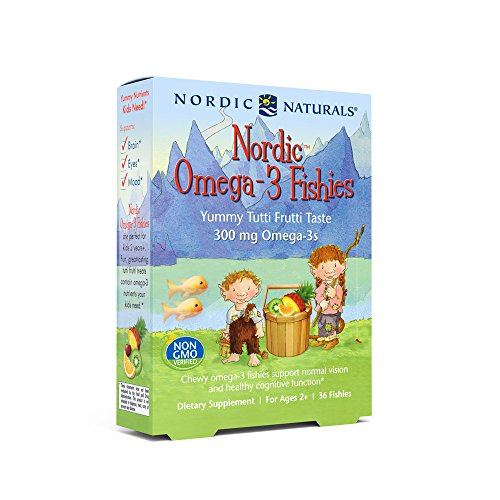 Omega Health Pak (Nordic Naturals - Nordic Omega-3 Fishies, Supports Optimal Brain and Immune Function, 36 Count)