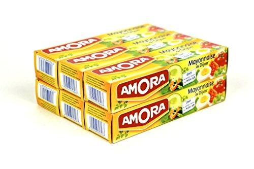French Mayonnaise From Dijon Amora-Mayonnaise De Dijon 6 Tube Pack - Wholesale