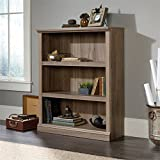 Sauder Select 3 Shelf Bookcase in Salt Oak