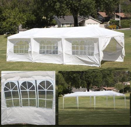 Ku0026A Company Parachute Party Tent Canopy Wedding Us Garden Sun Shade Gazebo  Patio Umbrella Heavy Duty