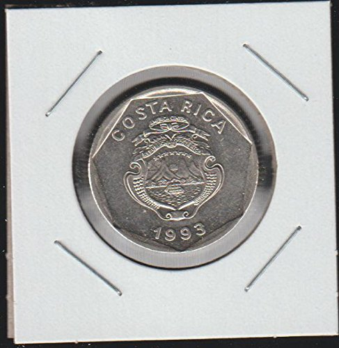 1993 Costa Rica Ship $5 Choice About - Costa Dollar Rica