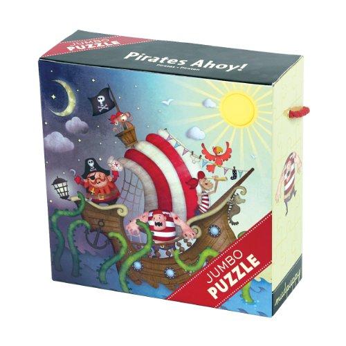 Mudpuppy Pirates Ahoy! Jumbo Puzzle