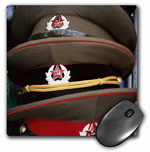 Danita Delimont - Poland - Military hats, Anniversary Stadium, WARSAW. Poland - EU22 PRI0021 - Prisma - MousePad (mp_82464_1)