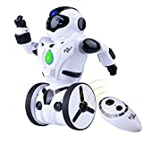 Kuman Remote Control Robot, 2.4Ghz Smart Self Balancing Robot Toy Gifts for Kids, 5 Operating Modes, Dancing, Boxing, Driving, Loading, Gesture Sensing, Super Fun RC Robot 1016A
