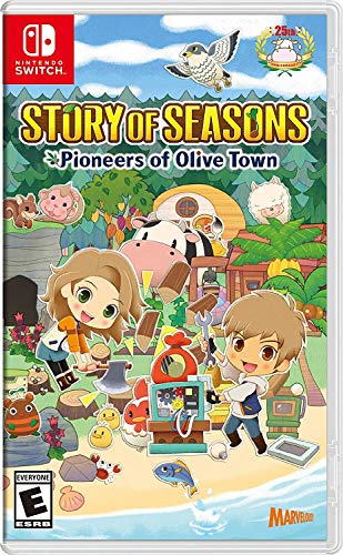 Story of Seasons: Pioneers of Olive Town – Nintendo Switch