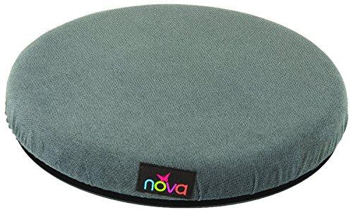 NOVA Medical Products Padded Swivel Cushion, Blue, 3.3 Pound