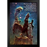 ProFrames We Are Part of This Universe Neil deGrasse Tyson Quote Framed Poster 12x18