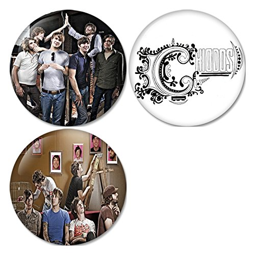 (Chiodos #2 Pinback Buttons Badges/Pin 1.25 Inch (32mm) Set of 3 New)