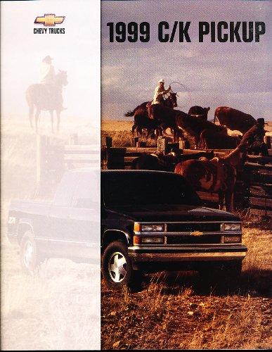 1999 Chevrolet Silverado C/K Truck Sales Brochure Book