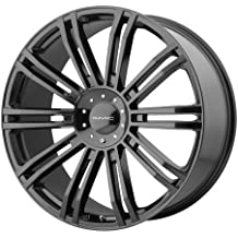 KMC Wheels KM677 D2 Gloss Black Wheel (20x8.5/5x114.3, 120mm, 35mm offset)