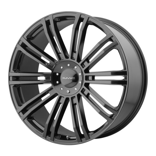 KMC Wheels KM677 D2 Gloss Black Wheel (20x8.5