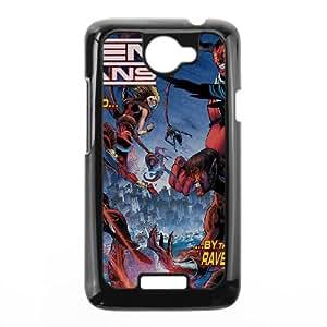 HTC One X Cell Phone Case Black Teen Titans Cover Art Cartoon SU4425506
