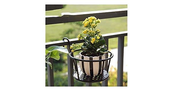 XYHX Metal Mini Plantas de Flores Estante de macetas Estante for ...