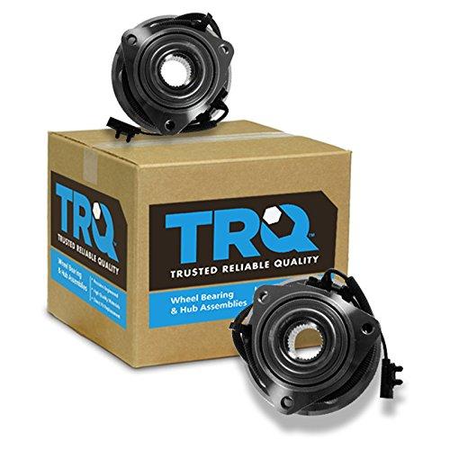 TRQ Wheel Bearing & Hub Assembly Front Pair Set for Dodge Nitro Jeep Liberty