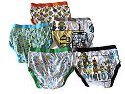 Handcraft Little Boys\' Despicable Me Brief (Pack of 5)
