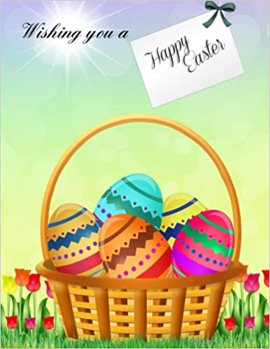 Wishing you a happy easter xl greeting card notebook with beautiful wishing you a happy easter xl greeting card notebook with beautiful easter art included easter greeting cards in al easter greeting cards in m4hsunfo
