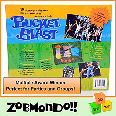 Bucket Blast | Award Winning Kids Game | Promotes Physical Activity Indoors and Outdoors: Toys & Games