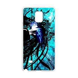Samsung Galaxy S4 Cell Phone Case White Black Rock Shooter AG6094719