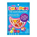 Zollipops Clean Teeth Pops, Anti Cavity Lollipops, Variety Pack, 25 Count