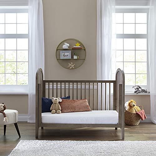 "51mf 6feGoL - Sealy Baby Select 2-Cool 2-Stage Dual Firmness Lightweight Waterproof Standard Toddler & Baby Crib Mattress, Soybean Foam-Core, 51.63"" X 27.25"""