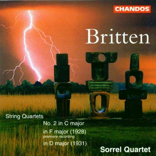 CD : Sorrel Quartet - String Quartet F Major /  String Quartet D Major (CD)