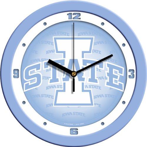 SunTime NCAA Iowa State Cyclones Wall Clock - Baby - State Wall Cyclones Clock Iowa