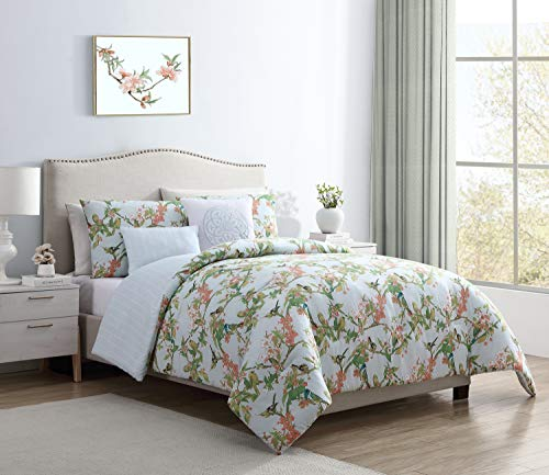 - VCNY Home Chelsea Comforter Set, Twin XL, Green