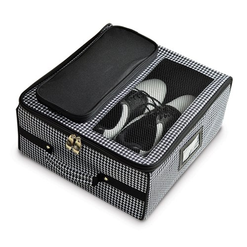 Black or Houndstooth Golf Trunk Organizer Home Garden Living Gifts by Goldia