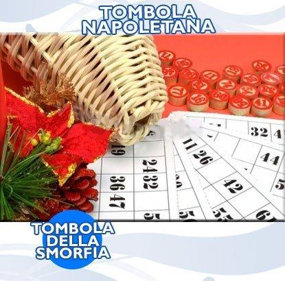 TOMBOLA NAPOLETANA NATALE GIOCO DA TAVOLA DELLA SMORFIA CARTELLE NUMERI Forever shopping