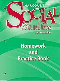 Harcourt social studies teacher edition grade 3 our communities harcourt social studies homework and practice book student edition grade 3 fandeluxe Gallery