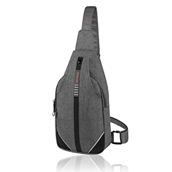 ddc8696960f WATERFLY Small Sling Bag Backpack Anti Theft Crossbody Bag for Men Women   Amazon.ca  Sports   Outdoors