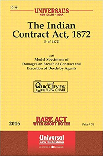 INDIAN CONTRACT ACT 1872 BARE ACT PDF DOWNLOAD