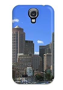 New Arrival Galaxy S4 Case Boston City Case Cover