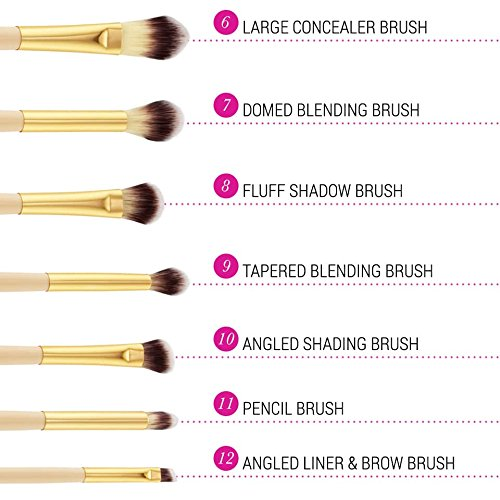 BH Cosmetics Studded Couture Brush Set​