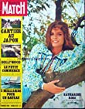 PARIS MATCH [No 1099] du 30/05/1970 - CARTIER AU JAPON. ADIEU A HOLLYWOOD. LE PETIT COMMERCE MENACE DE MORT. 2 MILLIARDS POUR UN BATEAU - AMERICA'S CUP. KATHARINE ROSS. Adieu Hollywood Colette Edouard Pignon Face Ë face Danielou - Garaudy Japon Joâ Louis internE Katharine Ross Katharine Ross La mise Ë mort du petit commerce Le baron Bich et l'America cup's Les heures noires de Wall Street Ottavia Piccolo