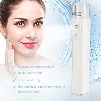 M1 Handy Mist Spray Atomization Facial Humectant with Portable Powerbank(white)