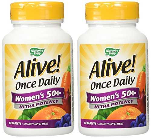 (Nature's Way Alive Once Daily Women's 50+ 120 (60 x 2)pack of 2)
