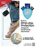 RFID Neck Wallet & Hidden Passport Holder