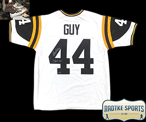 Ray Guy Autographed/Signed Southern Miss White Custom Jersey with