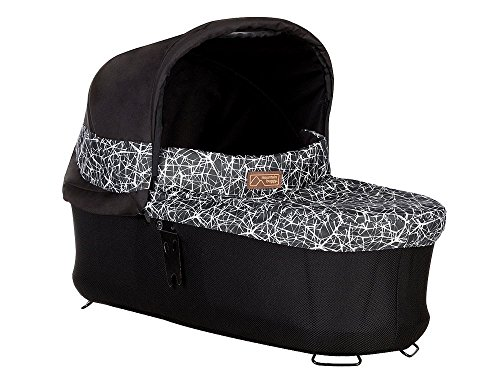 Mountain Buggy Carrycot Plus with 3 Seat Modes for 2015 Terrain, Plus One, and Urban Jungle, Graphite by Mountain Buggy