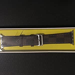Apple Watch Leather Band 42mm for Nike+ Sport Edition Series 2 Series 1 (Brown)